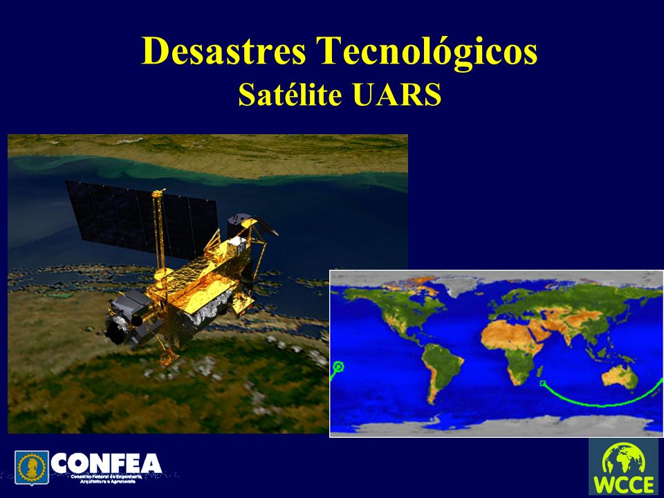 Desastres Tecnológicos Satélite UARS