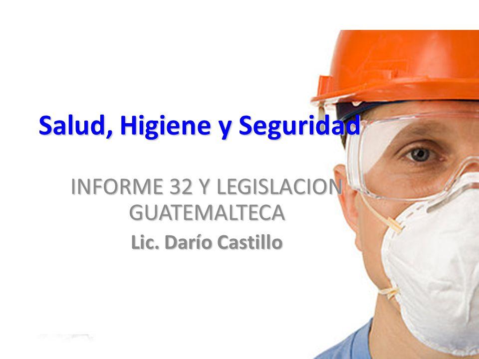Salud, Higiene y Seguridad