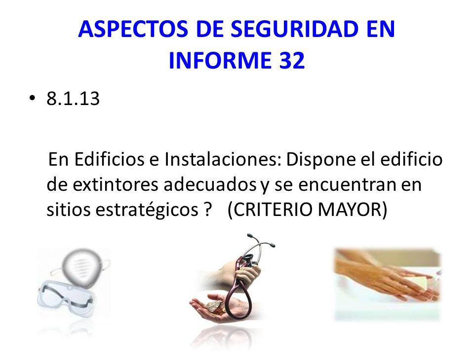 ASPECTOS DE SEGURIDAD EN INFORME 32