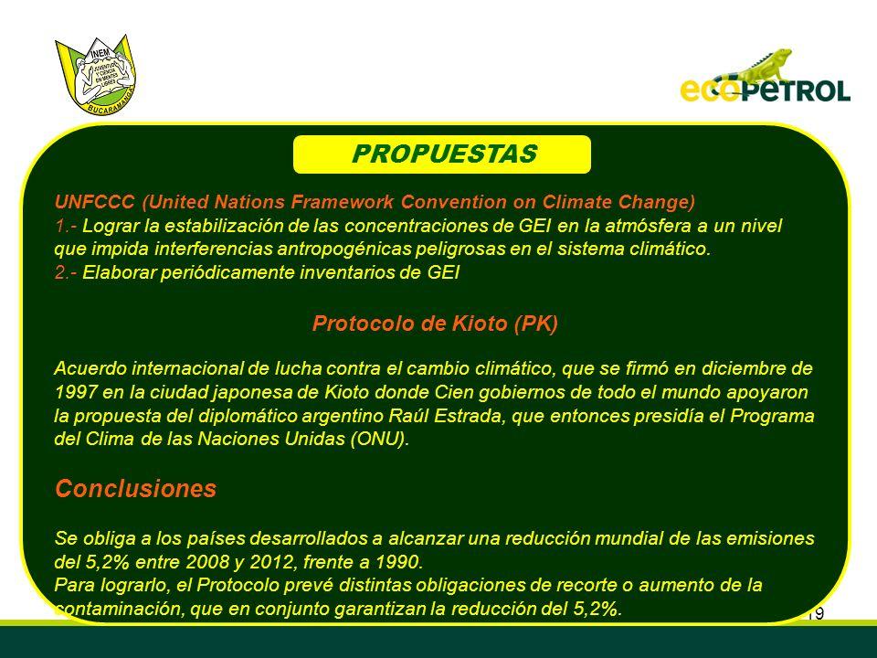 Protocolo de Kioto (PK)