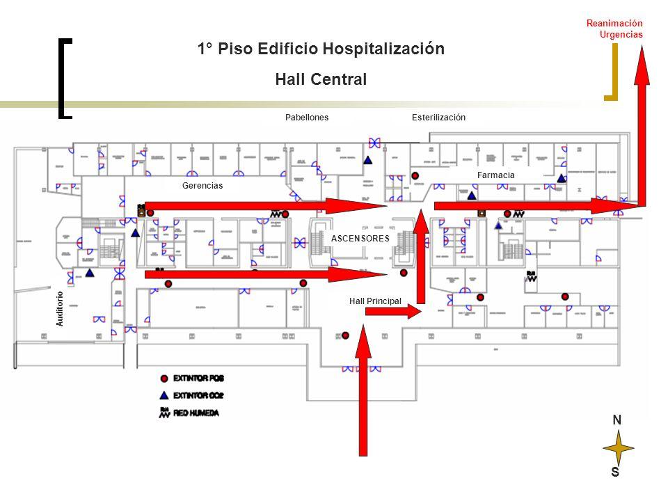 1° Piso Edificio Hospitalización