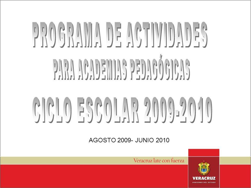 AGOSTO 2009- JUNIO 2010