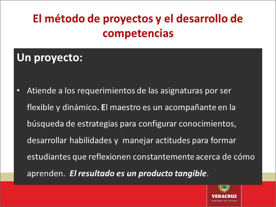 El método de proyectos y el desarrollo de competencias