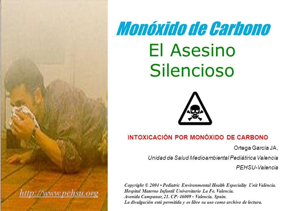 Monóxido de Carbono El Asesino Silencioso