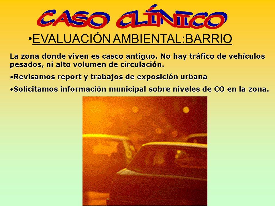 CASO CLÍNICO EVALUACIÓN AMBIENTAL:BARRIO