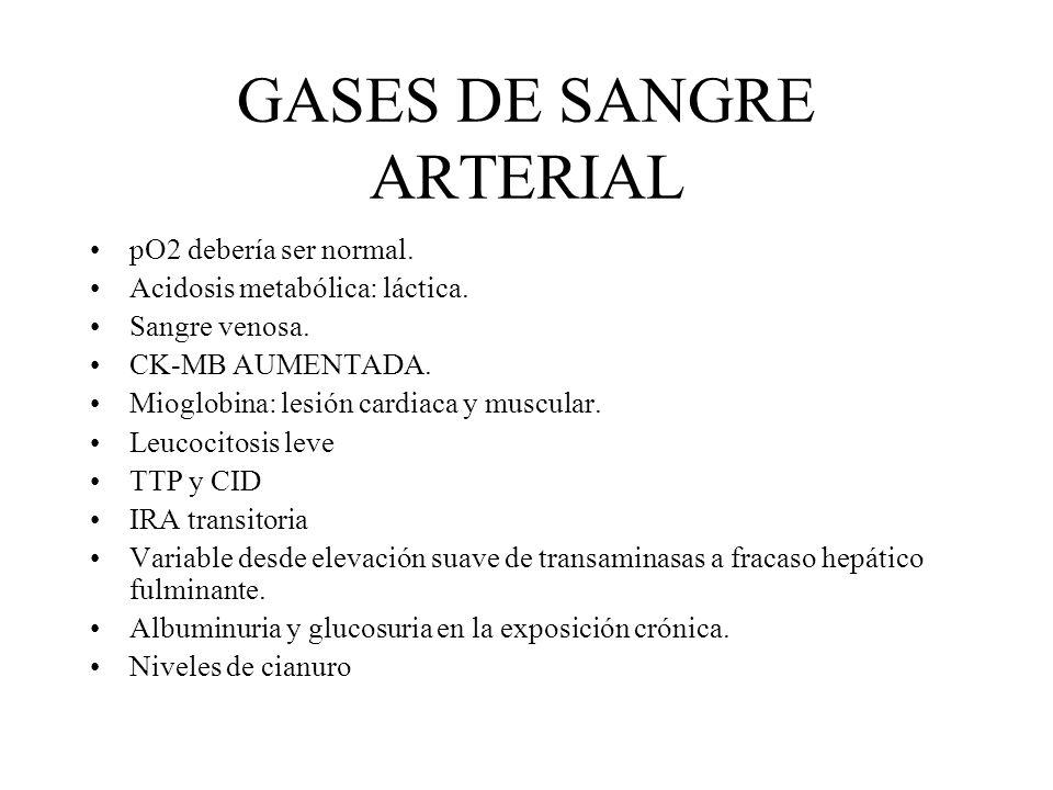 GASES DE SANGRE ARTERIAL