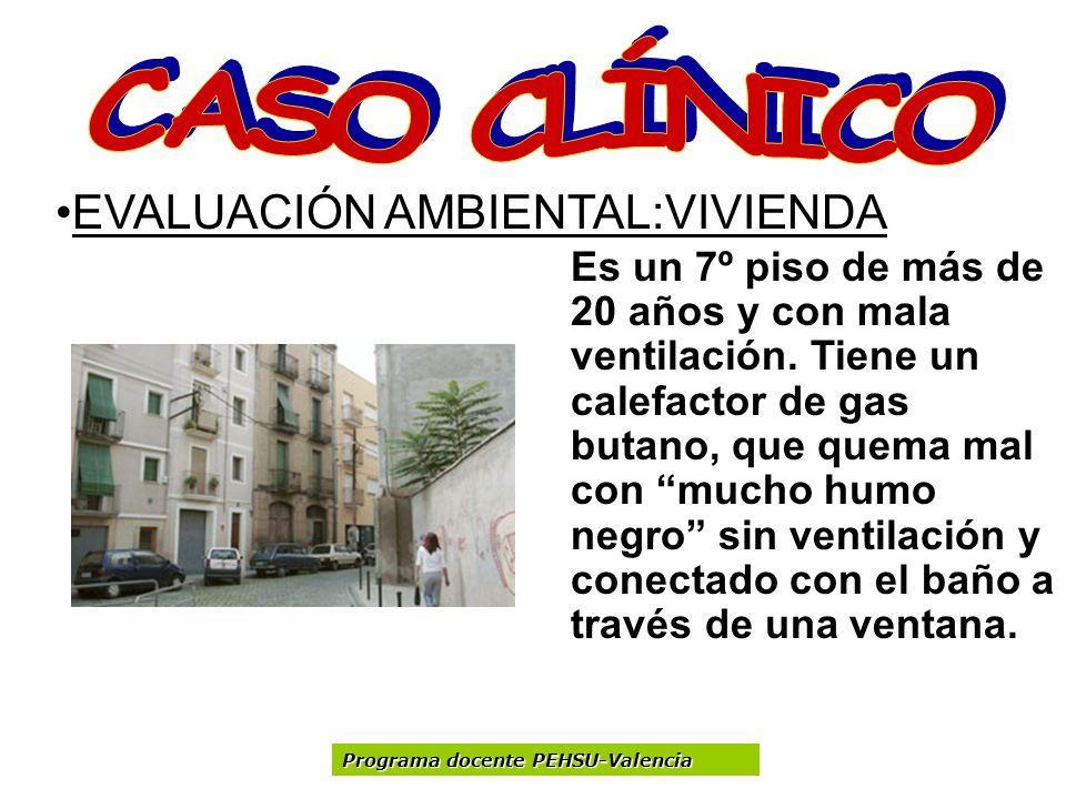 CASO CLÍNICO EVALUACIÓN AMBIENTAL:VIVIENDA