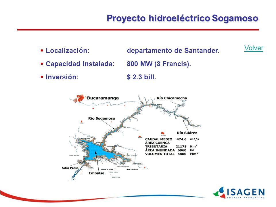 Proyecto hidroeléctrico Sogamoso