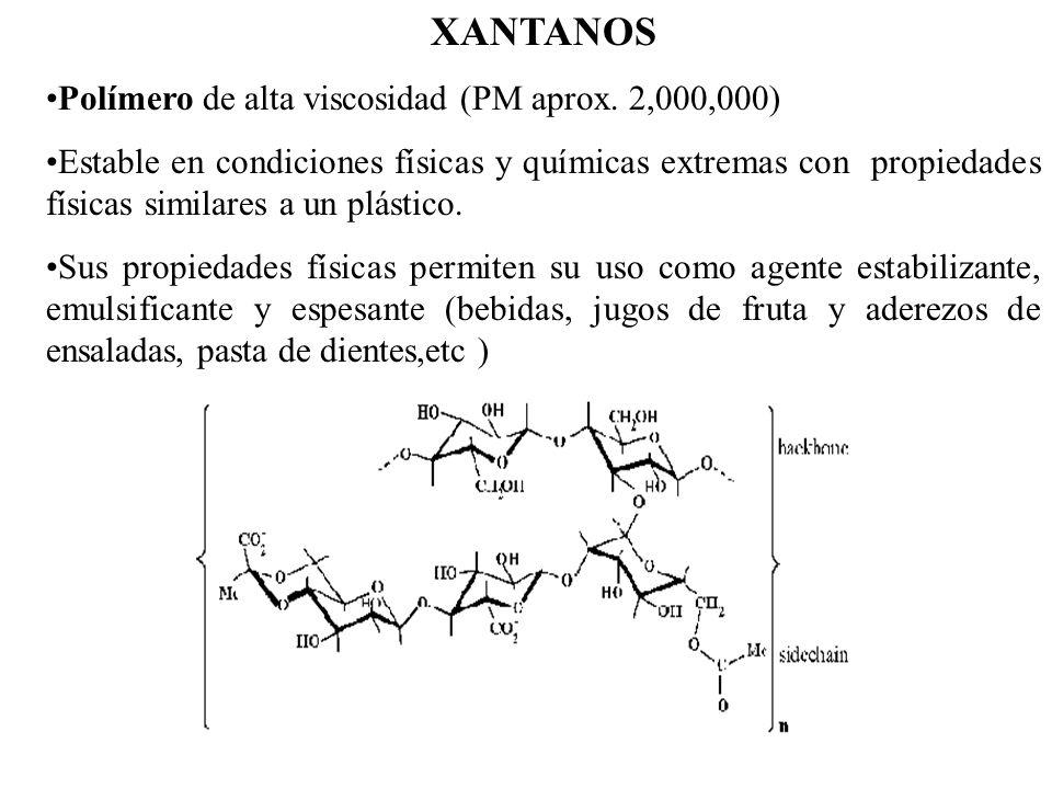 XANTANOS Polímero de alta viscosidad (PM aprox. 2,000,000)