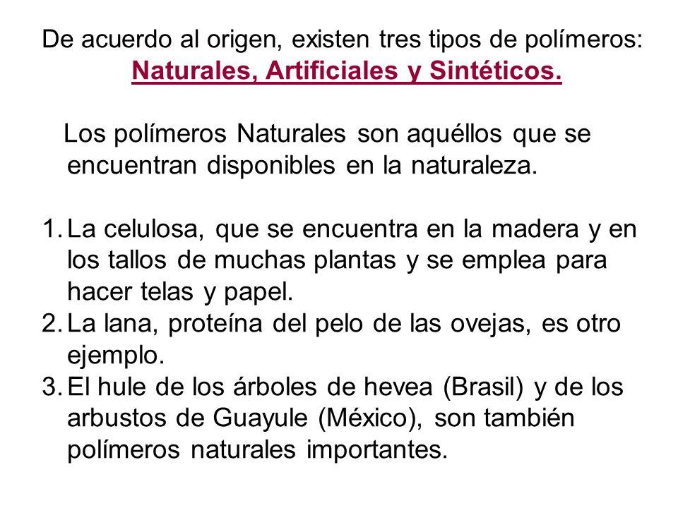 Naturales, Artificiales y Sintéticos.