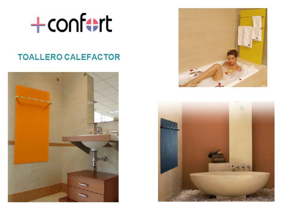 Por la presente queremos darle a conocer un producto que for Toallero calefactor