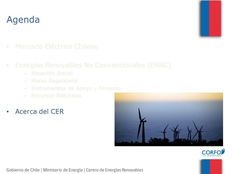 Agenda Mercado Eléctrico Chileno