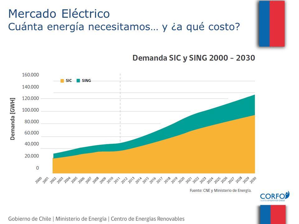 Mercado Eléctrico Cuánta energía necesitamos… y ¿a qué costo