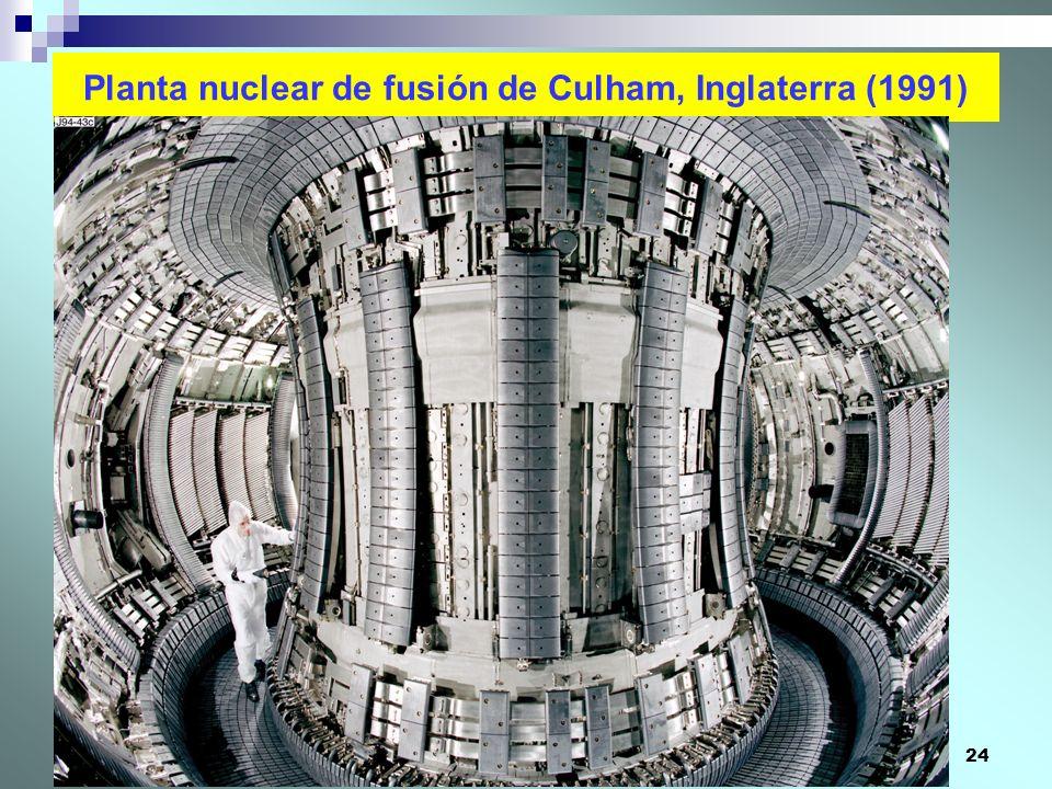 Planta nuclear de fusión de Culham, Inglaterra (1991)