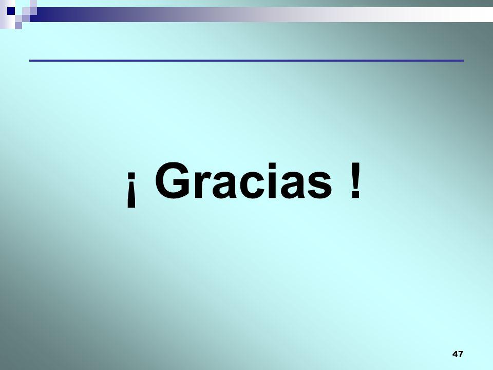 ¡ Gracias !
