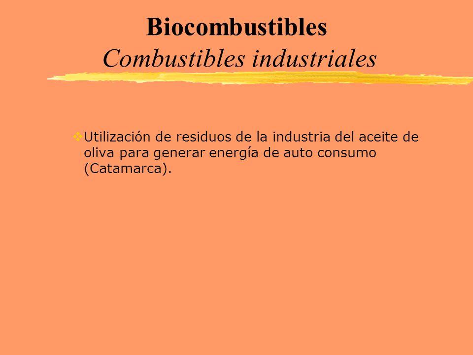 Biocombustibles Combustibles industriales