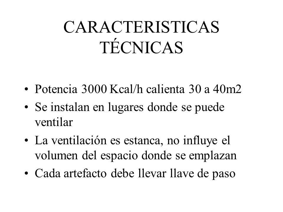 CARACTERISTICAS TÉCNICAS