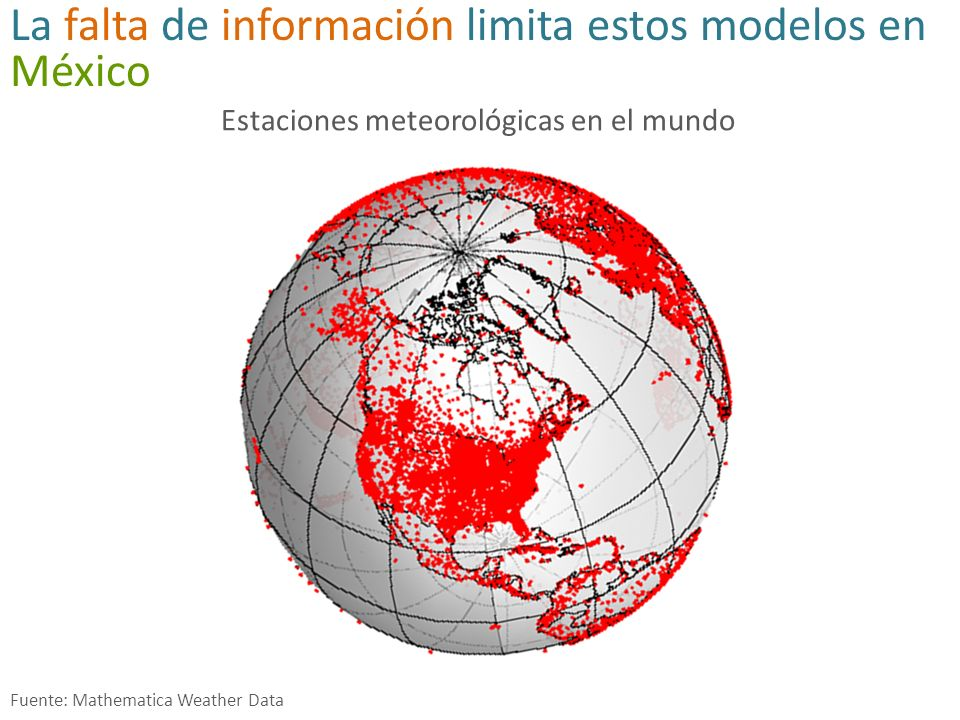 La falta de información limita estos modelos en México