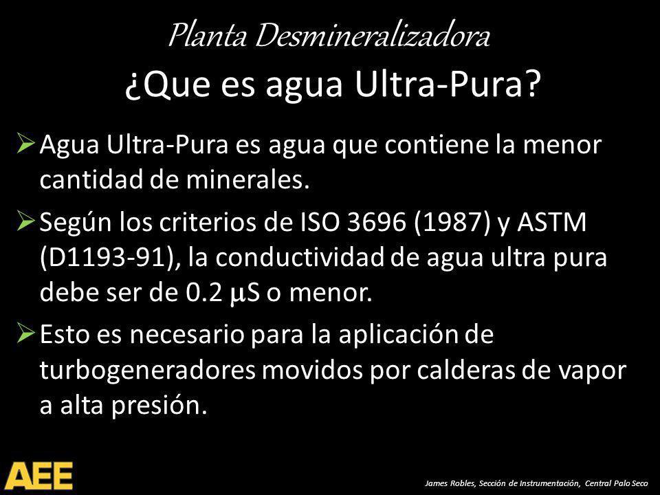 ¿Que es agua Ultra-Pura