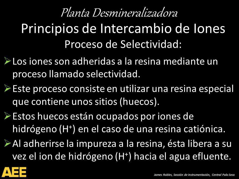 Principios de Intercambio de Iones