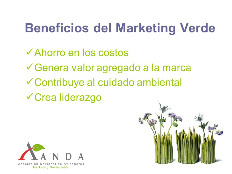 Beneficios del Marketing Verde