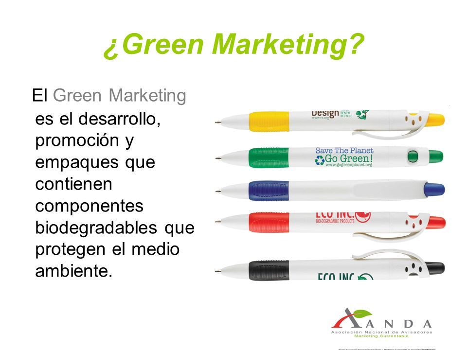 ¿Green Marketing.