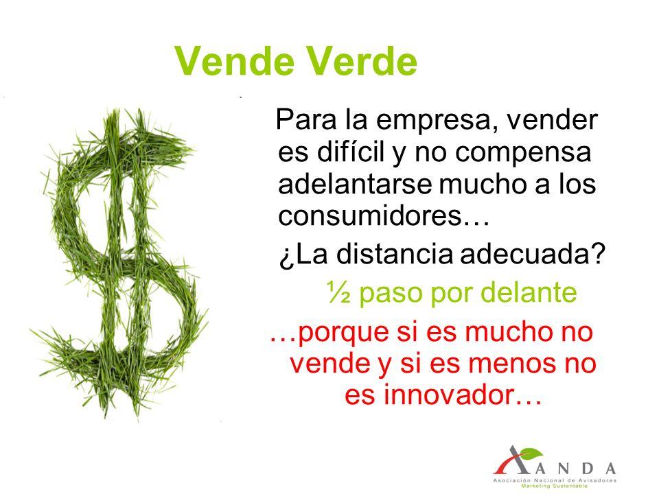 …porque si es mucho no vende y si es menos no es innovador…