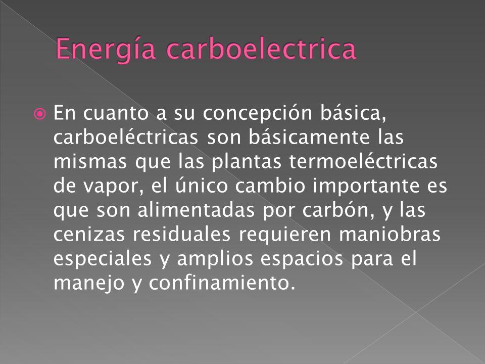 Energía carboelectrica
