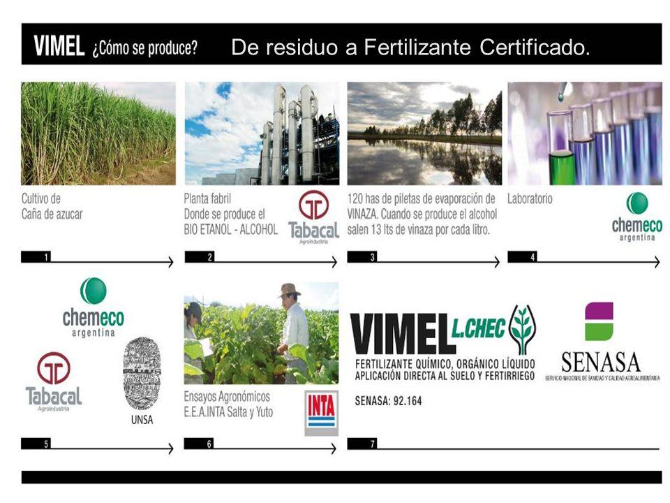 De residuo a Fertilizante Certificado.
