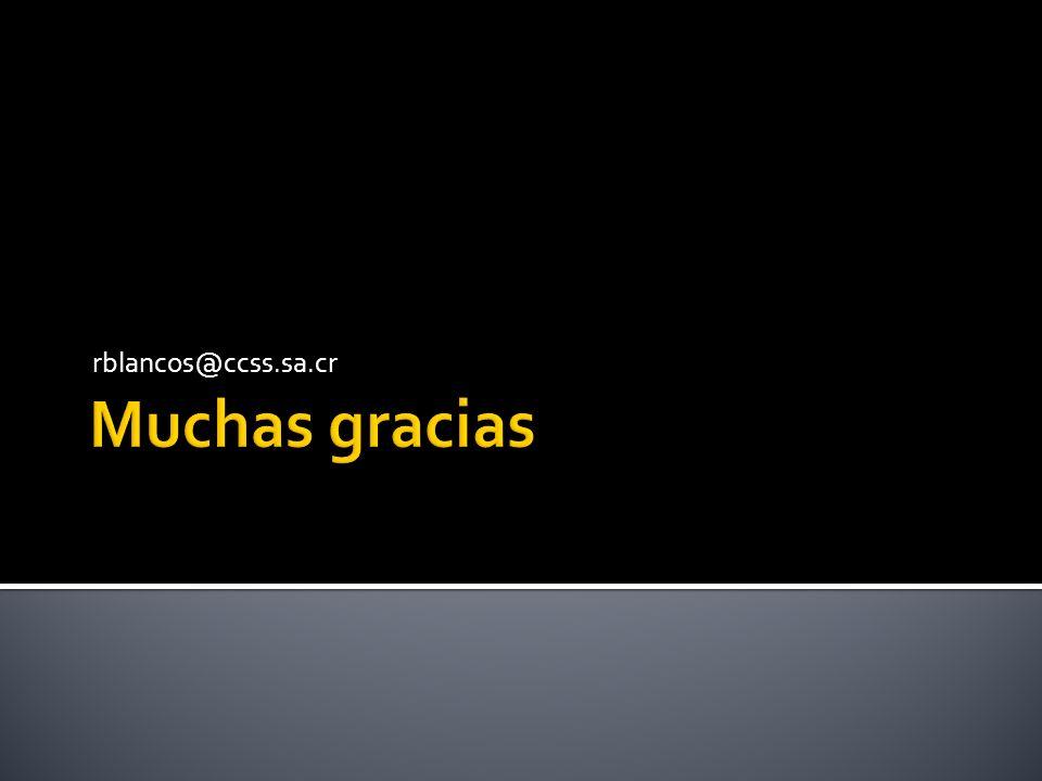 rblancos@ccss.sa.cr Muchas gracias