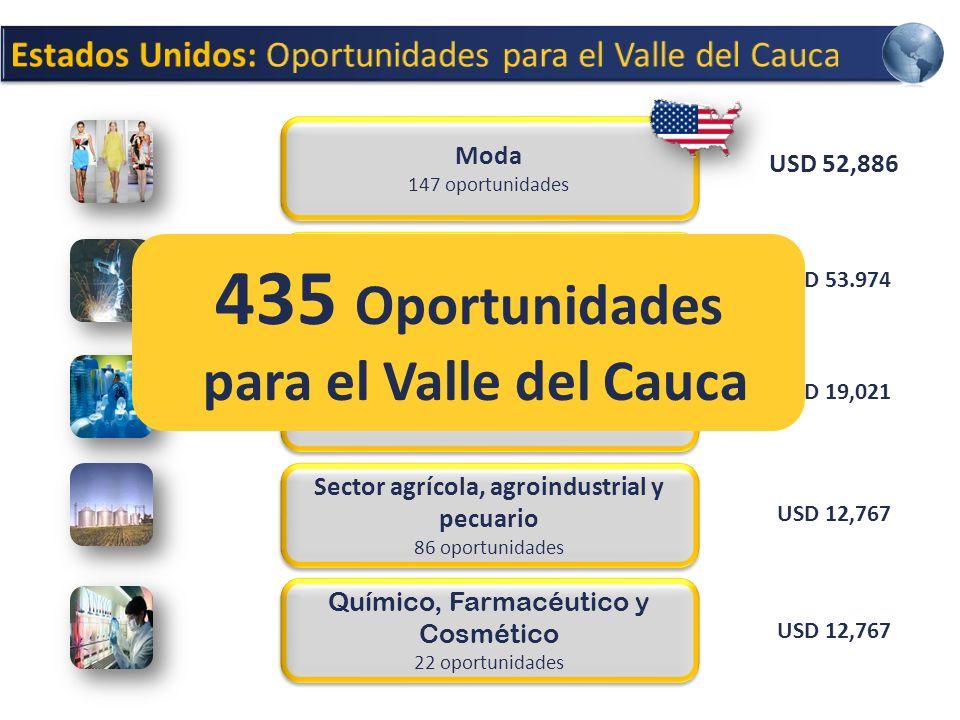 435 Oportunidades para el Valle del Cauca