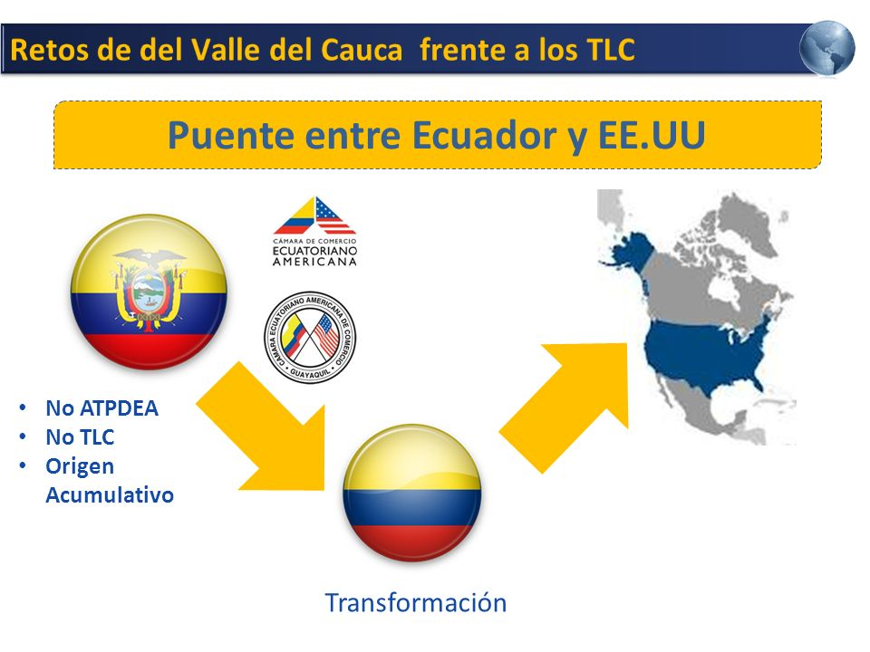 Puente entre Ecuador y EE.UU