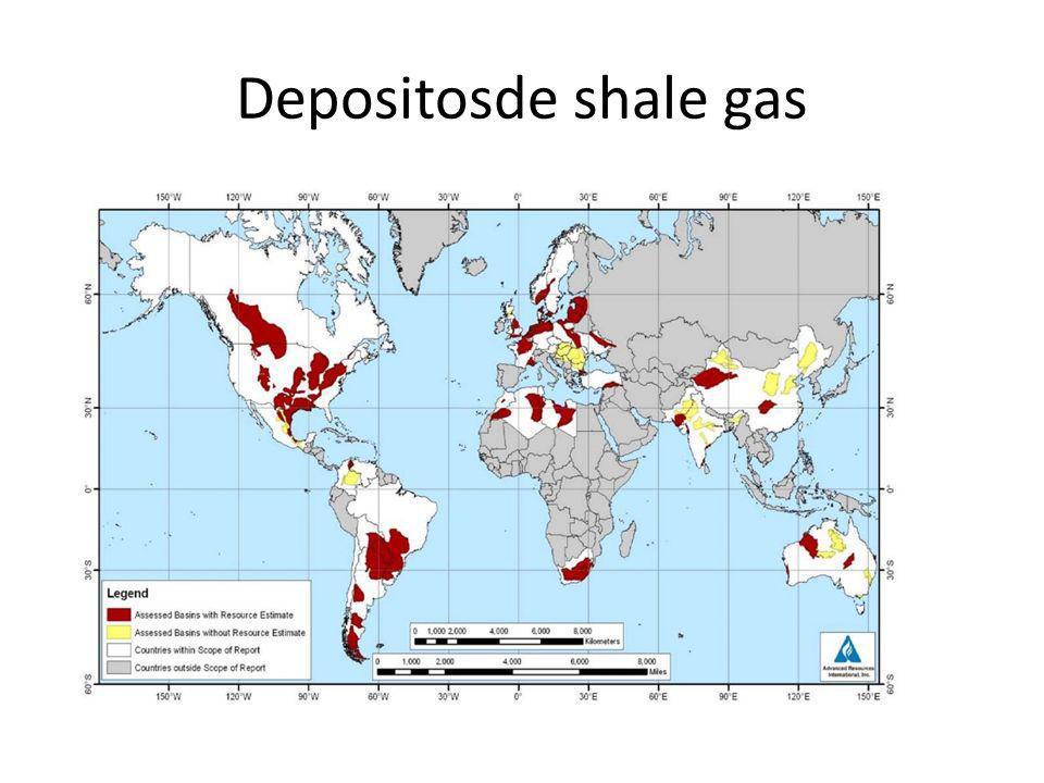 Depositosde shale gas