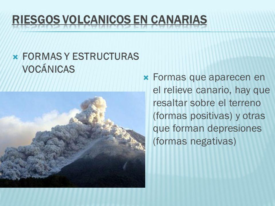 RIESGOS VOLCANICOS EN CANARIAS