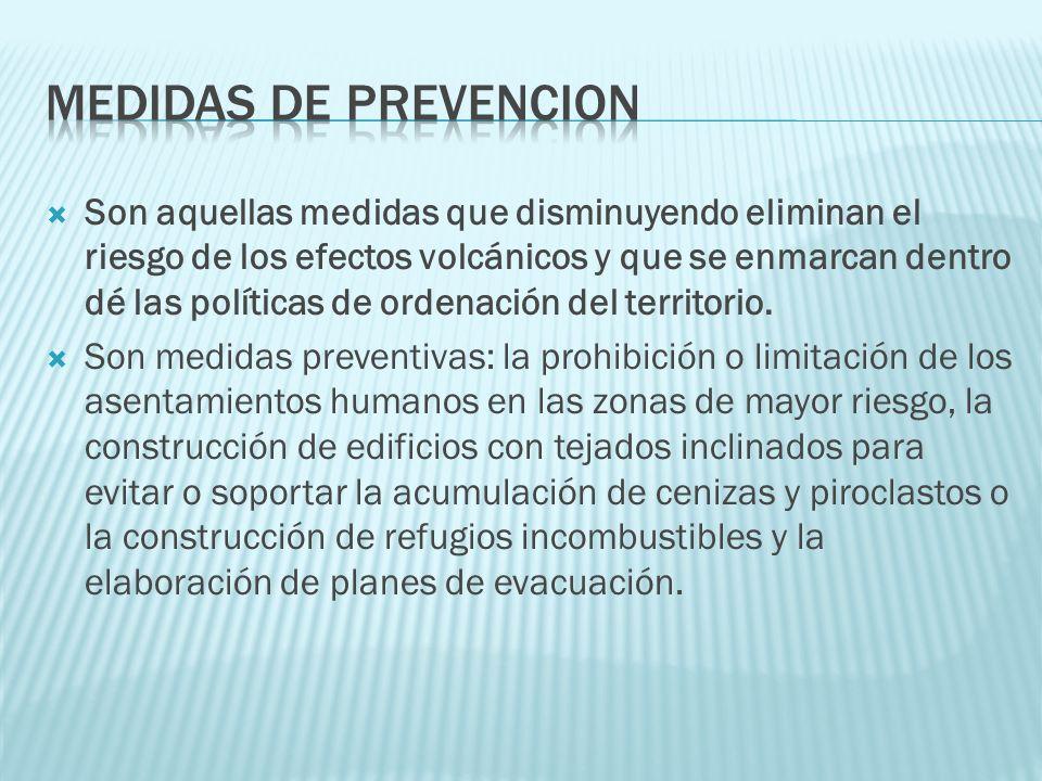 Medidas de prevencion