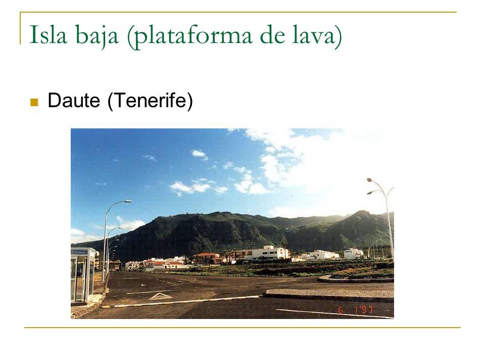 Isla baja (plataforma de lava)