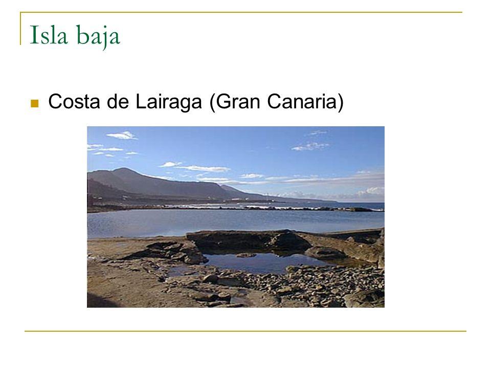 Isla baja Costa de Lairaga (Gran Canaria)