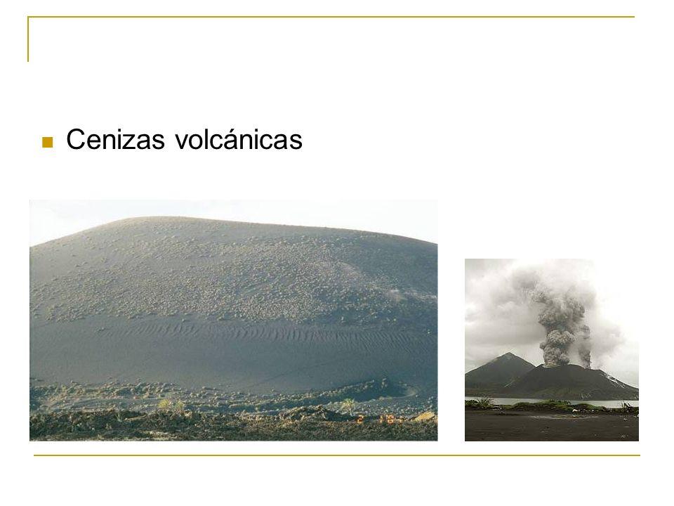 Cenizas volcánicas