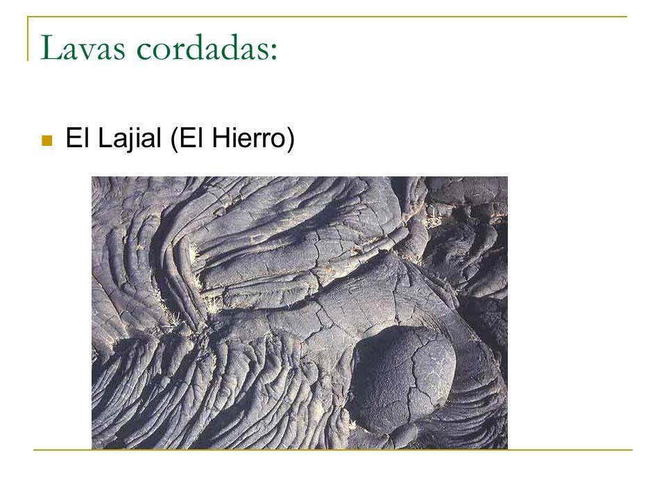Lavas cordadas: El Lajial (El Hierro)