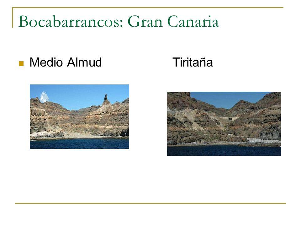 Bocabarrancos: Gran Canaria
