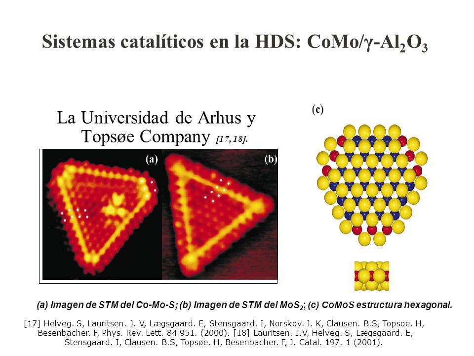 Sistemas catalíticos en la HDS: CoMo/γ-Al2O3