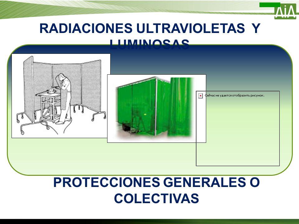 RADIACIONES ULTRAVIOLETAS Y LUMINOSAS