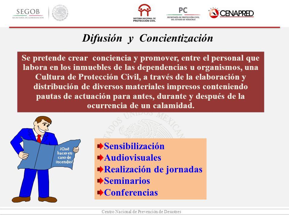 Difusión y Concientización
