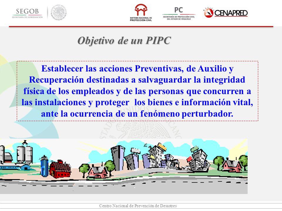 Objetivo de un PIPC
