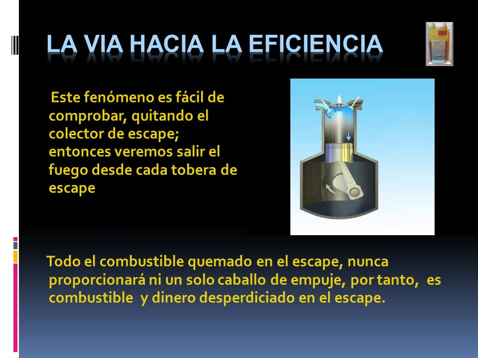 La Via hacia la Eficiencia