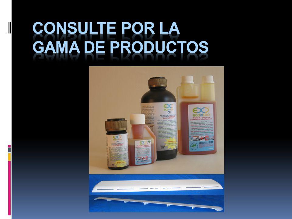 Consulte por la gama de productos
