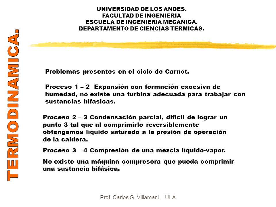 Prof. Carlos G. Villamar L ULA