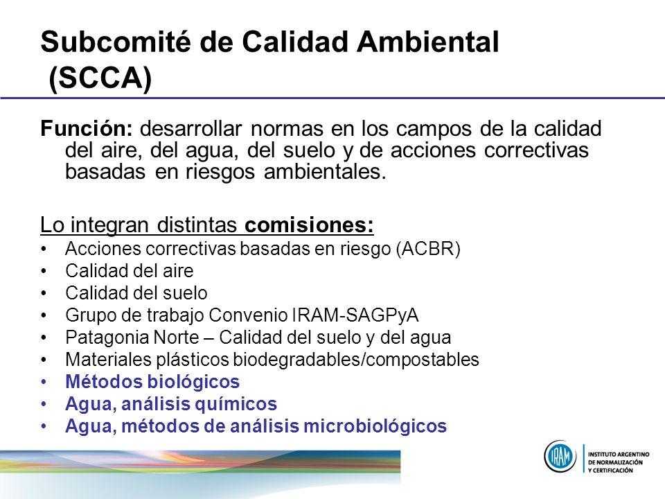 Subcomité de Calidad Ambiental (SCCA)