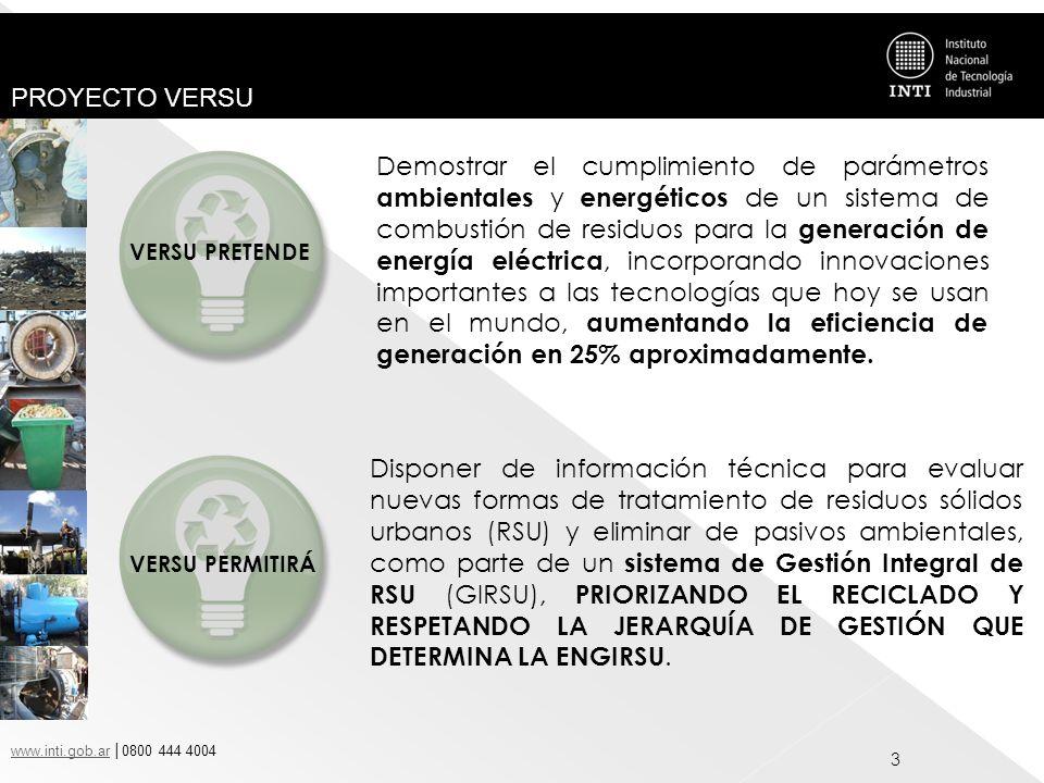 Demostrar el cumplimiento de parámetros ambientales y energéticos de un sistema de combustión de residuos para la generación de energía eléctrica, incorporando innovaciones importantes a las tecnologías que hoy se usan en el mundo, aumentando la eficiencia de generación en 25% aproximadamente.