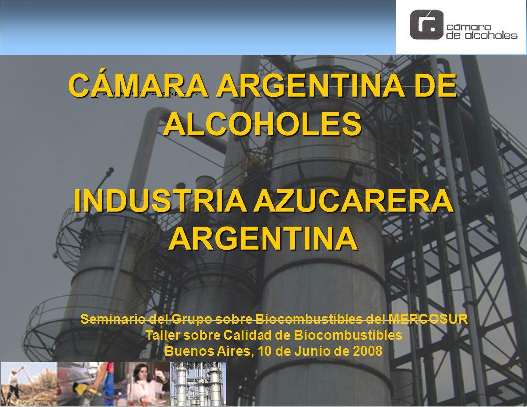 CÁMARA ARGENTINA DE ALCOHOLES INDUSTRIA AZUCARERA ARGENTINA